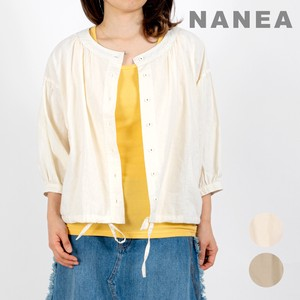 Carry S/S French Linen Gather Blouse
