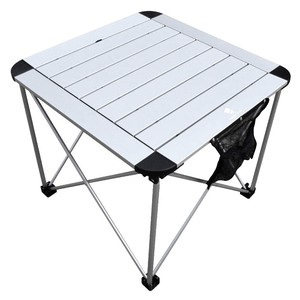 Roll Table Folded Aluminium Table