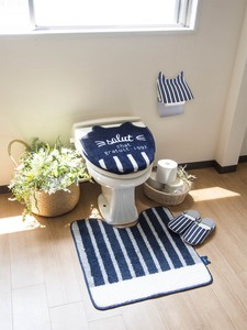 Toilet Series Navy cat Cat Bathroom Furnishing Toilet Mat