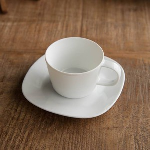 Pottery Cup Saucer MINO Ware