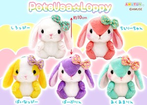 """Poteusa Loppy"" Rabbit Soft Toy Vivid Size LMC"