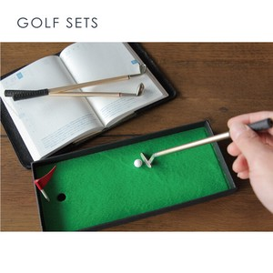 Desk 3 Colors Ballpoint Pen GOLF Golf White Stationery