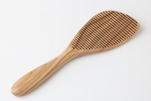 Rice Attached Wooden Rice Scoop