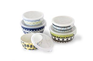Pottery Field Microwave Oven Pack 5-item Set