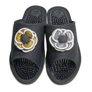 GRAN DECO Glitter Health Sandal Shoes Ladies