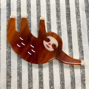 Retro Sloth Brooch