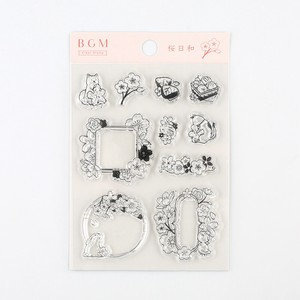 BGN Clear Stamp Sakura Weather Stamp