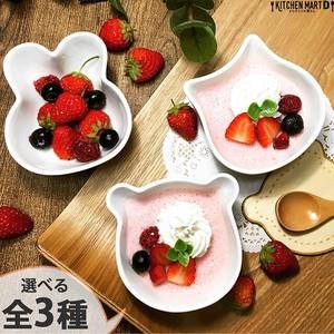 【選べる3形状】くまorねこorうさぎ ベビーボウル160cc 離乳食 食器 小鉢 デザートボウル 子供