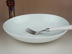 Curry Plate Pasta Plate Oval Baker Plate White