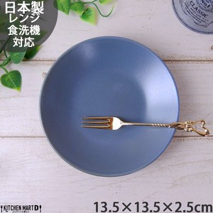 Natural Kitchen 3.5 Plate Plate Gray Round shape Plate Mini Dish Cafe Mino Ware