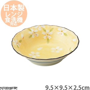 Plate Mini Dish Bowl Soy Sauce Plate Plate Mini Dish Plate Mino Ware Pottery Light-Weight