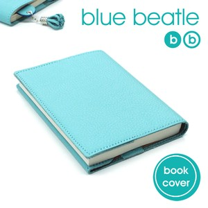 Leather blue Book Cover