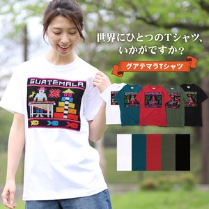 T-shirt Embroidery Handmade Short Sleeve Leisurely Ethnic Asia Native