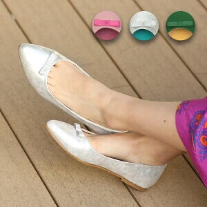 Roll Ballet Shoes Flat Flattened Leisurely S/S Ethnic Asia