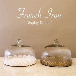 Iron French Iron Display Dome