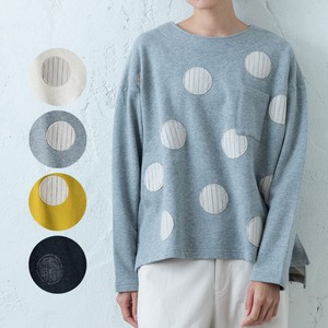 A/W Dot Patchwork Pullover