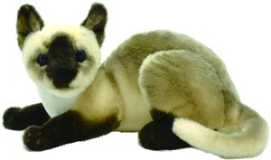 Cat Soft Toy Siamese