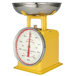 [DULTON] American Kitchen Scale YELLOW