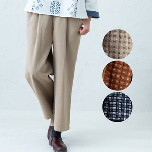 A/W Pocket Embroidery wide pants