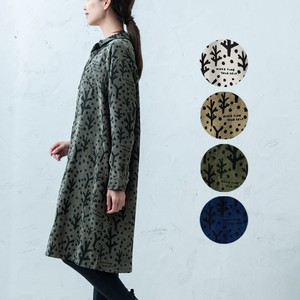 A/W Repeating Pattern Shirt One-piece Dress