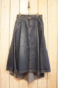 Carry S/S Denim Fish Denim Skirt