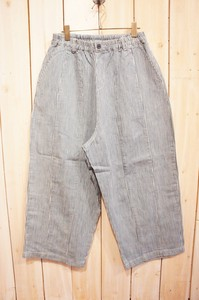 Carry S/S Denim Hickory Balloon Pants