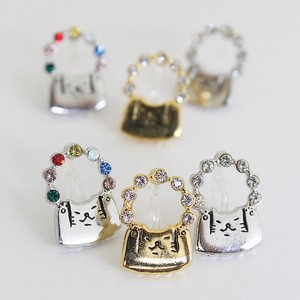 Ring cat Earring