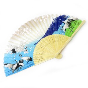 Silk Folding Fan Mt. Fuji
