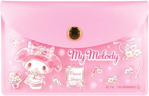 Tease Sanrio Pouch Sticky Note My Melody Glitter