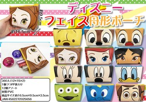 [2019NewItem] Sales Promotion Disney Face Pouch