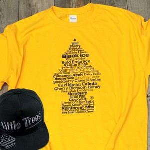 Little Tree T-shirt Gold
