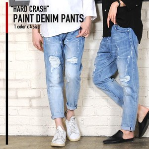 [2019NewItem] Hard Paint Denim Pants