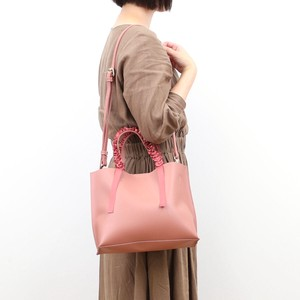 Frill Handle Tote Bag