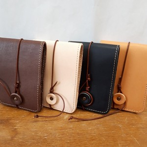 [2019NewItem] Tan Leather Memo pad Cow Leather