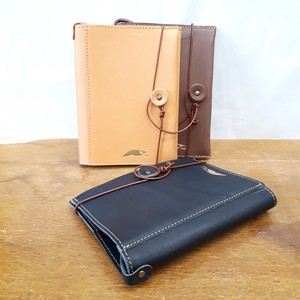 [2019NewItem] Tan Leather Book Cover Paperback Cow Leather