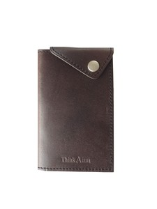 Freedom Business Card Holder Brown