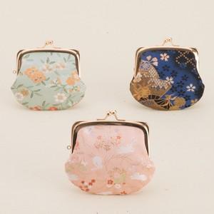 西陣織 3.3寸がま口財布(月丸/角丸) 日本製