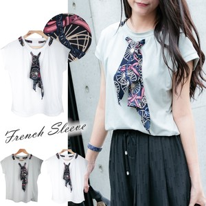 French Scarf T-shirt