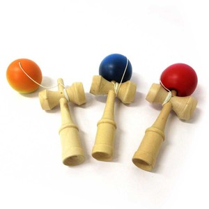 Wooden Color Kendama 3 Colors Assort