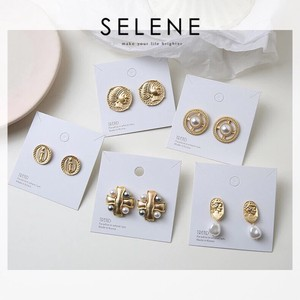 5 Types Design Pierced Earring