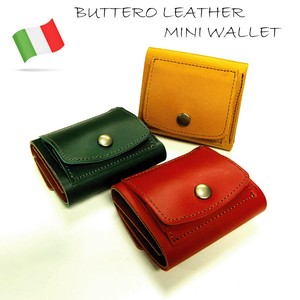 Italy Leather Use Three Wallet