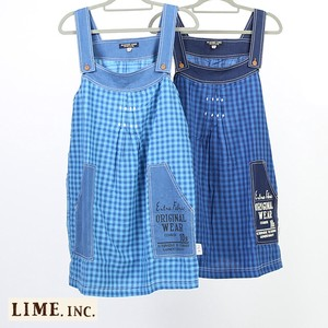 Quality Indigo Checkered Skirt