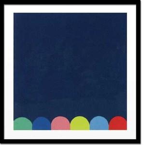 特価(セール品) アートフレーム モンティニー Thierry Montigny Untitled I (blue),2005(Silkscreen)