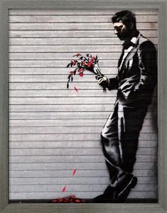 アートフレーム バンクシー  Banksy Wither