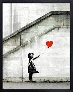 アートフレーム バンクシー Banksy Red Balloon
