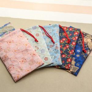 西陣織 金襴 御朱印帳入れ 巾着 日本製