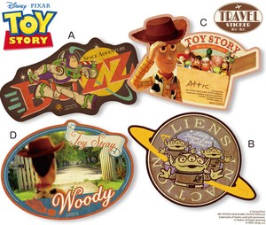 Toy Story Travel Sticker
