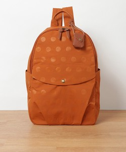 New Color Nylon Dot Leather Backpack