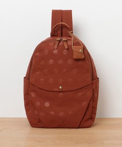 A/W New Color Nylon Dot Leather Backpack