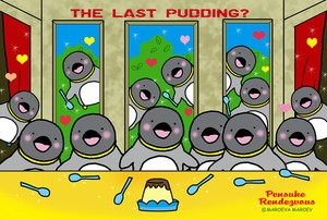 Pensuke Rendezvous postcard 63  [the last pudding ]